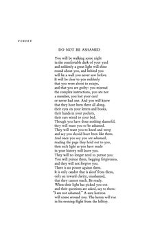 DO NOT BE ASHAMED BY Wendell Berry -   http://www.poetryfoundation.org/jstor/1/4/5/20598145-000.png