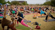 yoga-rocks-the-park and concert series  - I lost 26 pounds from here EZLoss DOT com #products #fitness