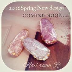 この画像は「【天然石ネイル】大理石みたいなマーブル模様♡ 天然石ネイルデザイン画像集&やり方まとめ♡2016春夏」のまとめの43枚目の画像です