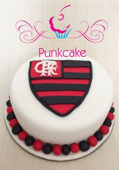 Bolo Artístico, Flamengo  Punkcake (confeitaria) G.Alline