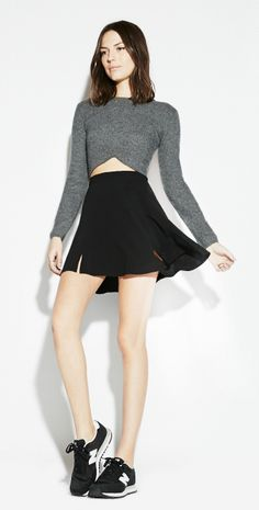The Reformation Storm Skirt