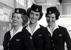 BOAC (British Overseas Airways Corporation to give it its full name) Air stewardesses of the 1950s