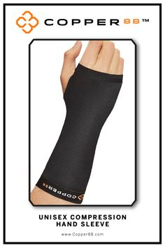Available from S- XXL, this Compression Hand Sleeve is the only in the world to have 88% copper embedded in it's fiber composition.The compression supports your muscles and joints aiding in faster recovery time.Comfortably worn during exercise, rest and in the shower.Super-fast wicking keeps garments dry Antibacterial and anti-odour properties will keep you feeling and smelling fresh. Copper88™ fabric attributes are inherent in all our garments and will last for as long as you own our…