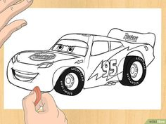 How To Draw Lightning Mcqueen Side View Lightning Mcqueen Drawing, How To Draw Lightning, Nascar, Flash Mcqueen, Purple Wallpaper, Disney Pixar Cars, My Rock, Great Pictures, Learn To Draw