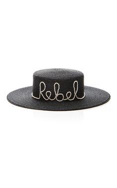 5dff4cbf327 Rebel Sun Hat by Eugenia Kim