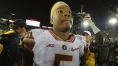 Oregon players mock Florida State QB Winston with 'No means No!' chant.  Actually College football, not NFL