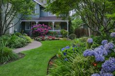 Front Yard Landscaping Ideas - Bob Vila I want my yard to look like this