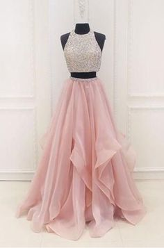 Two piece pink