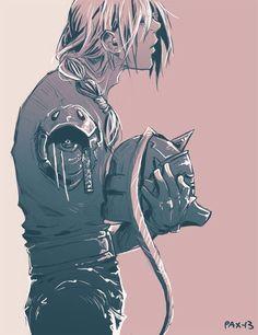 Edward and Alphonse Elric _Fullmetal Alchemist Brotherhood