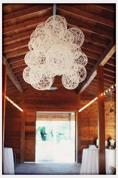 Decorations, String Laterns For Rustic Wedding Decor: DIY Wedding Decoration Ideas for Unique One
