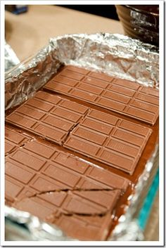Symphony Brownies -- are you kidding me?  Brownies with symphony bars in the middle . . . wow!