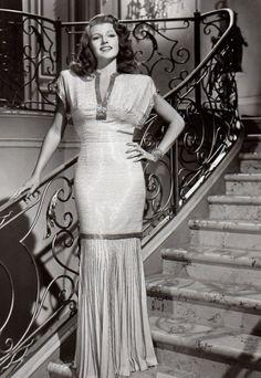 #rita hayworth #beauty #vintage