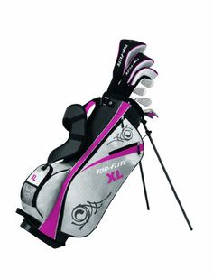 Never been golfing, but if I had these, I bet I'd be good :) 2012 Top-Flite XL Womens Package Set Golf Clubs with Bag and Covers Brand New RH Ladies Golf Clubs, Best Golf Clubs, Golf Clubs For Sale, Golf Now, Golf Club Sets, Ab Challenge, Golf Exercises, Callaway Golf, Great Gifts For Mom