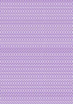Lace Print Paper soft blue
