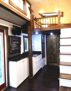 Fully functional tiny house on wheels.