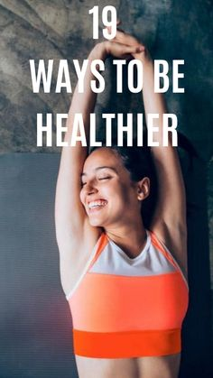Find out these exciting 19 ways to be healthier. Wellness Tips, Health And Wellness, Health Tips, Health Fitness, Detox Diet Drinks, Ways To Be Healthier, Wealth Quotes, Mental Health Support, Home Exercise Routines