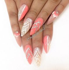 Look at these nails they are  cute idk how they would look on me but they look good on my cousin