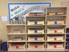 Great way to label orff instruments.  Change metallophones to blue-xylophones to green