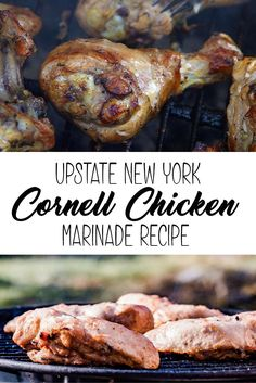 Cornell chicken is the best-known version of barbecue marinade in Upstate New York, served at nearly every fireman's chicken barbecue, now you can make it at home with the original recipe.