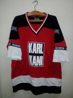 Vintage 90 s Karl Kani Jeans Big Logo run DMC theme Colors Spell. Hip Hop  OutfitsSwag ShirtsMens FashionFashion ... 92e8135bf