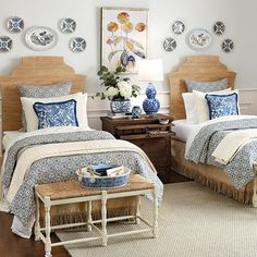 Find the right bedroom furniture to help you create just the right relaxing and inviting feel - to begin and end each day! Buy bedroom furniture sets at Ballard Designs. Teen Girl Bedrooms, Guest Bedrooms, Guest Room, Cottage Style Bedrooms, Ikea Bedroom, Bedroom Furniture, Costal Bedroom, Mirrored Bedroom, Bedroom Chair
