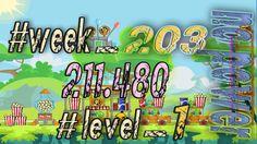 Angry Birds Friends Tournament Week 203  Level 1   no power  HighScore (...