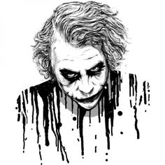 The Joker T-shirt Design by by nicebleed http://fancy-tshirts.com/fancy/the-joker-t-shirt-design-by-by-nicebleed