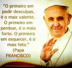 Folha certa : Mensagem do Papa Francisco
