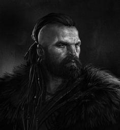 Celtic Warrior, Evren İnce on ArtStation at https://www.artstation.com/artwork/celtic-warrior-a5012f90-eb28-4305-adf5-a8d3012690a8