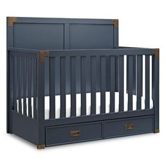 Infuse Timeless Style And Functionality Into Your Nursery With The Bebe Confort Wyatt Convertible Crib Br Metal Plates Highlight This