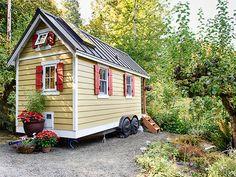 House to go: Ein Minihaus auf Rädern