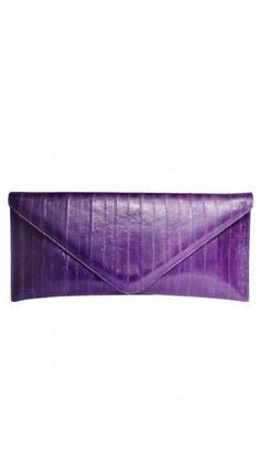 Purple clutch - fabulous!