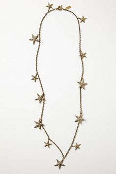 Twinkling Stars Strand #anthropologie