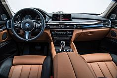 2015 BMW X6 Interior Dashboard