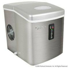 EdgeStar Portable Stainless Steel Ice Maker