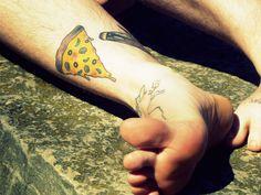Food Tattoos!: Pizza