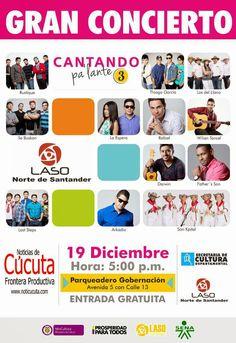 Noticias de Cúcuta: Los artistas musicales de LASO 2014 recibirán su p...