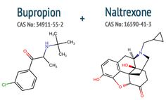 Sep. 10, 2014, The FDA approved Contrave (naltrexone hydrochloride and bupropion hydrochloride extended-release tablets) for anti-obesity treatments in combination with a reduced-calorie diet and exercise. The drug combo for use by people with a body mass index of 30 or higher. It is also approved for use by people with a BMI of 27 or higher who also have a weight-related medical condition such as high blood pressure (hypertension), diabetes, or high cholesterol (dyslipidemia).