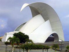 The Auditorio de Tenerife, by Santiago Calatrava