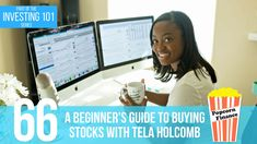How do you go about buying your first shares of stock. Tela Holcomb, a stocks and options trader, joins me to give a beginner's guide to buying stocks. Finance, Investing, Economics