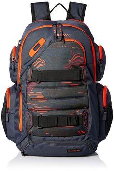 """Oakley Method 1080 Backpack 32 L - 15"""" Laptop Bag (92743-733) Flare Orange - New #Oakley #Backpack"""