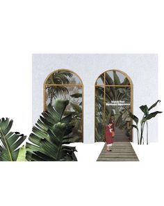 """Misty forest"" project made by Ozz Ozgen, Valentina Teruzzi, Serra Ylmaz, Wang Yuan Chao # collage Architecture Collage, Architecture Graphics, Architecture Visualization, Architecture Drawings, Architecture Portfolio, Architecture Design, Planer, Illustration Art, Illustrations"