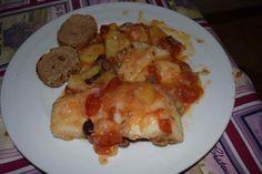 Cosmomum: Ricetta perfetta della settimana: Baccalà con Pomodorini, Olive e Patate