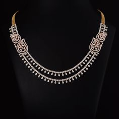 12 Affordable Jewelry Brands You Should Be Shopping RN Diamond Earrings Indian, Diamond Necklace Simple, Diamond Mangalsutra, Small Necklace, Diamond Pendant Necklace, Diamond Choker, Diamond Jewellery, Necklace For Neckline, Indian Jewelry Sets
