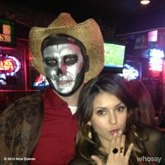 """#ninadobrev """"Great costume. What is he? No idea.. Just #awesome"""""""