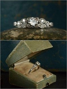 Antique engagement rings vintage (3)