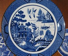 Life on an artistic shoestring at Highland Hill::: Blue Willow Pattern explained.......