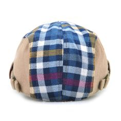 Good-quality Kids Boys Girls Cotton Grid Plaid Letter Cute Berets Hat Patch Flat Cap Casual Outdoor Visor Gorras is cheap, see more kids hats on NewChic. Flat Hats, Hat Patches, Girls, Boys, Kids Hats, How To Get Money, Boy Or Girl, Plaid, Cap