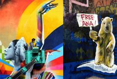 In Moscow, Eduardo Kobra makes mural in tribute to Maya Plisetskaya and protests for the freedom of Brazilian Greenpeace activist [...]