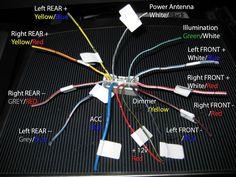 Simple Toyota Quantum Radio Wiring Diagram Inside
